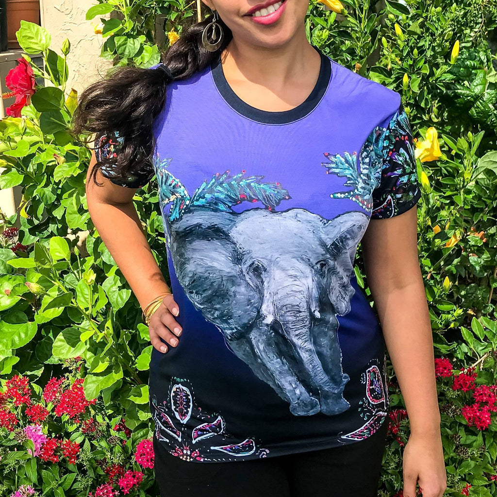Elephant Women's Cut & Sew Tee