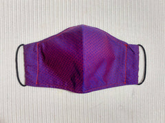 Two-toned Purple Fitted Face Mask