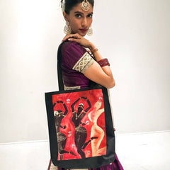 3 Temple Dancers Tote Bag