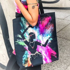 Image of Holi Hai Dancer Tote Bag