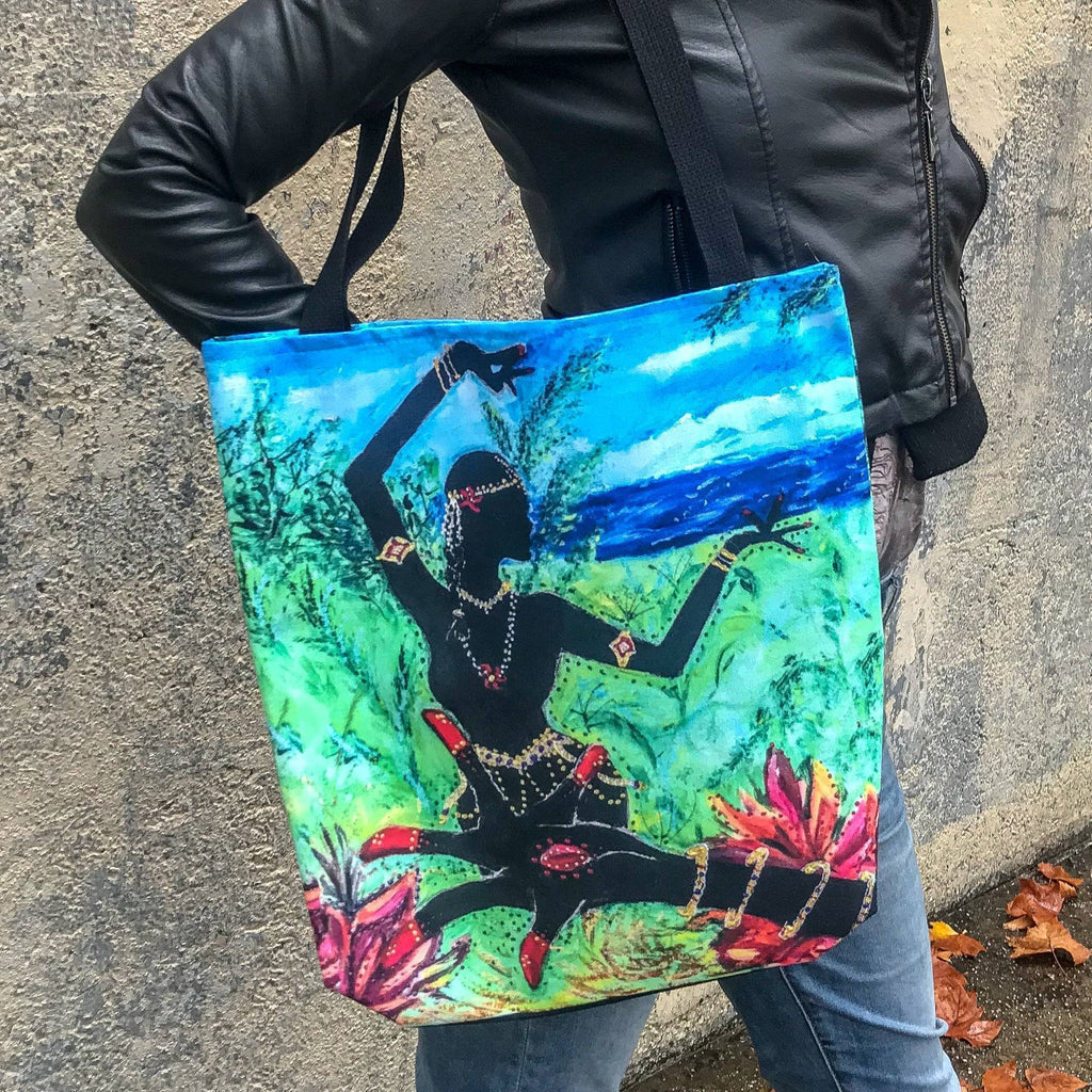 Alapadma & Dancer Tote Bag