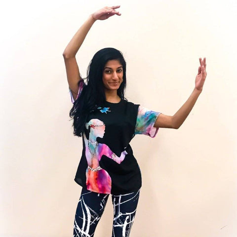 Holi Hai Dancer Women's Cut & Sew Tee