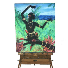 Image of Lotus Hand and Dancer Painting