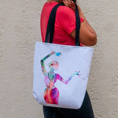 Holi Hai Dancer Tote Bag