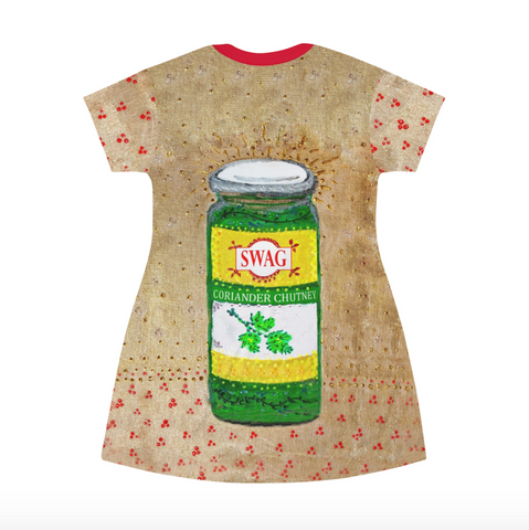 Chutney Swag T-shirt Dress