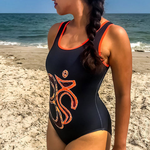 Aum Classic One-Piece Swimsuit