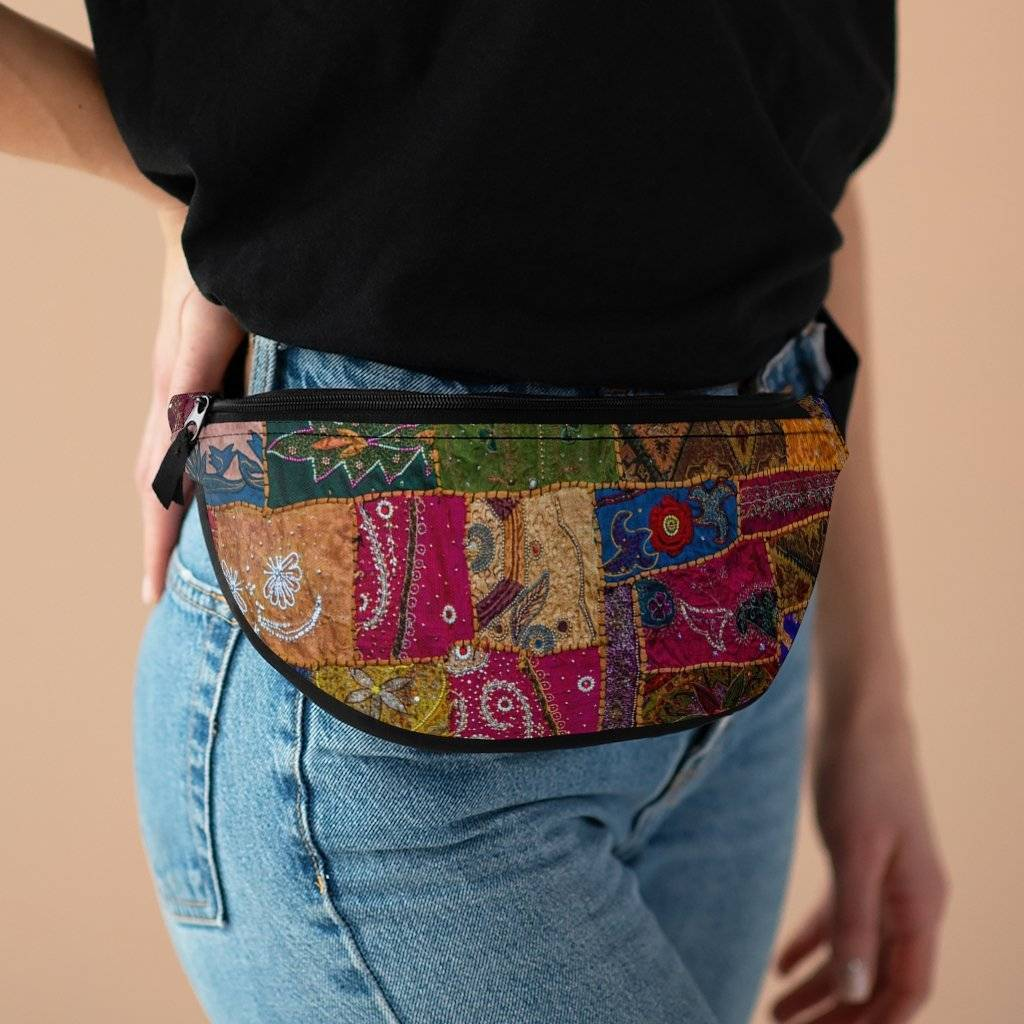 Desi Patchwork Fanny Pack