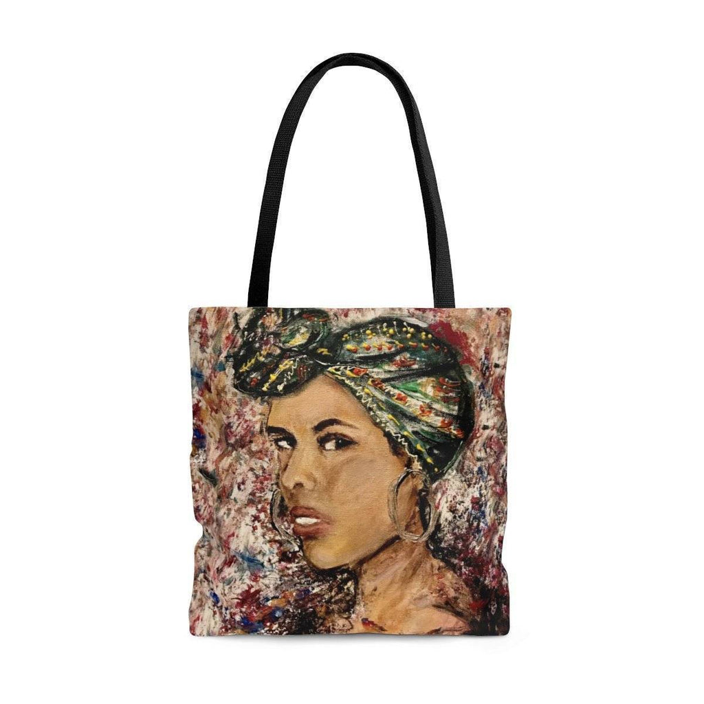 Lady Keys Tote Bag