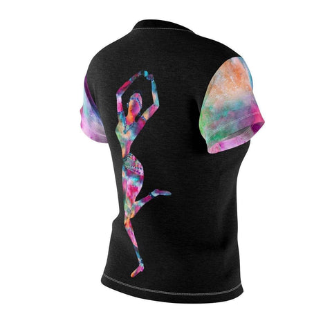 Holi Hai Temple Dancer Women's Cut & Sew Tee