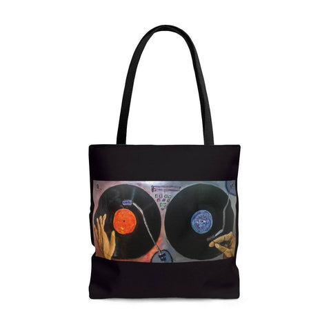 Turntable Tote Bag