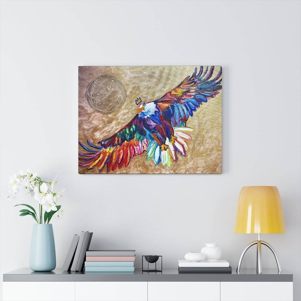 My America Canvas Print