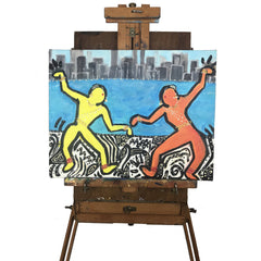 City Dancers Painting