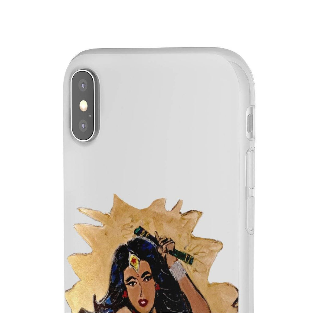 Desi Wonder Woman Phone Case  (Flexi Case)
