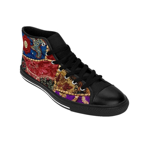 Desi Patchwork Women's High-top Sneakers