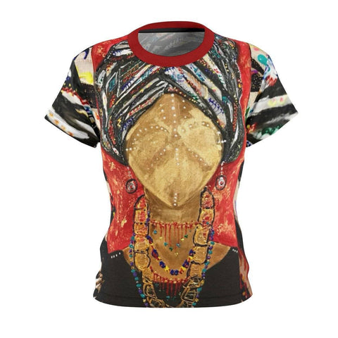 Fela's Queen Women's Cut & Sew Tee