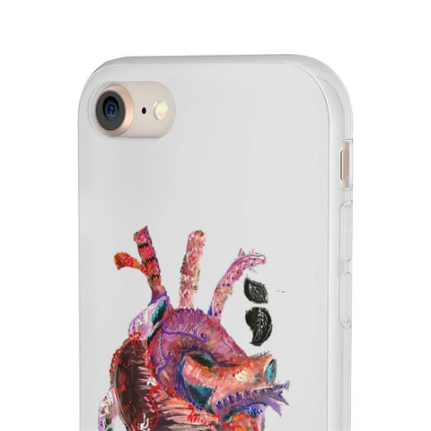 Heart beat Phone Case (Flexi Case)