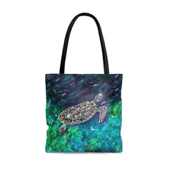 Wise Turtle Tote Bag