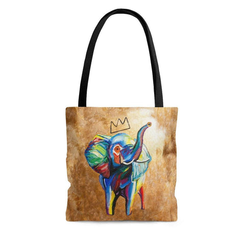 Elephant x Crown Tote Bag