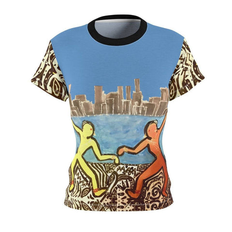 City Dancers Women's Cut & Sew Tee