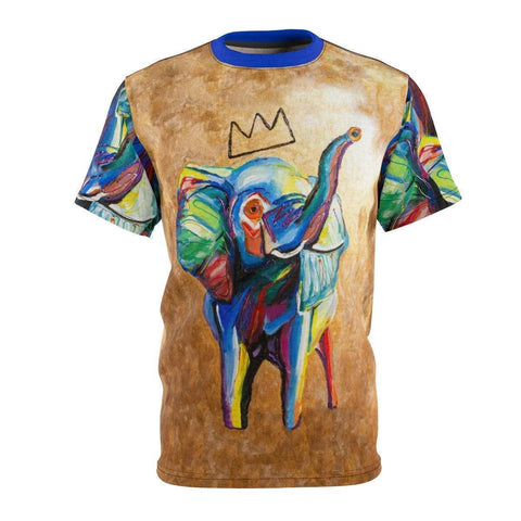 Elephant x Crown Unisex Cut & Sew Tee