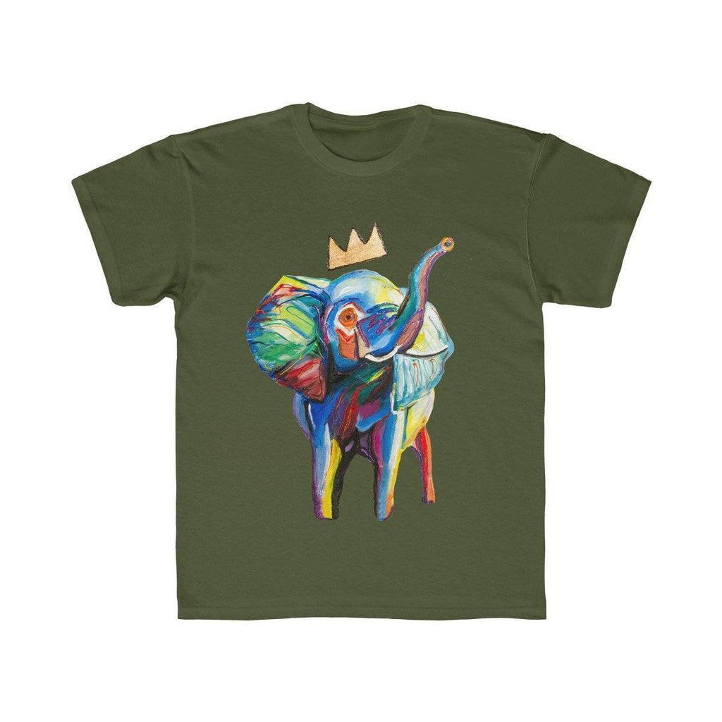 Elephant x Crown Kids Tee