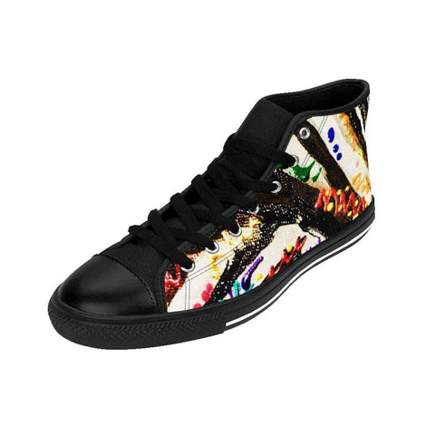 Zebra Women's High-top Sneakers