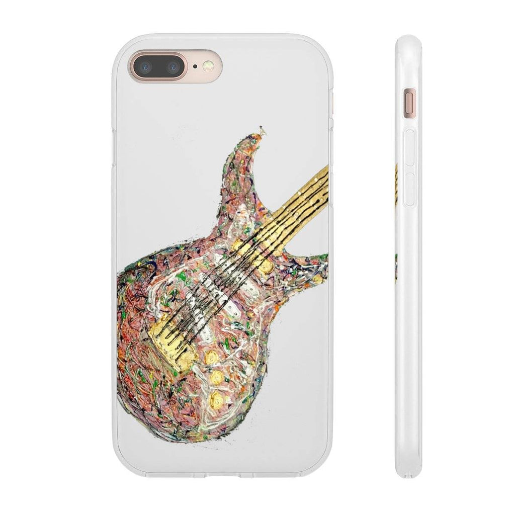 Psychedelic Guitar Phone Case (Flexi Case)