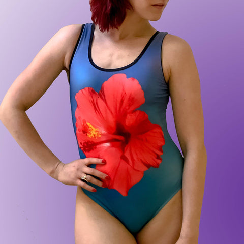 Hibiscus Classic One-Piece Swimsuit