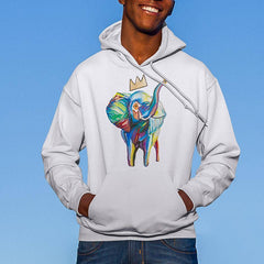 Men's Elephant x Crown Hoodie