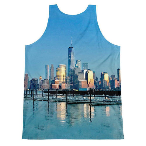 Manhattan Unisex Tank Top