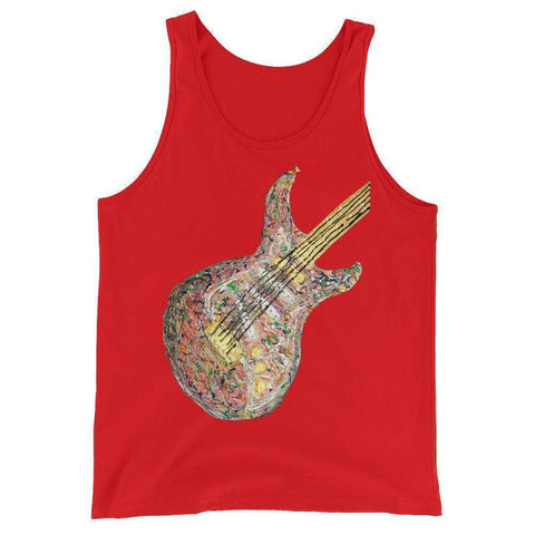 Psychedelic Guitar Tank Top