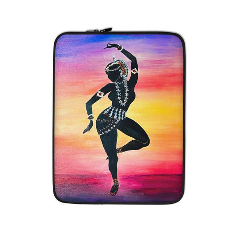 Odissi at Sunrise Laptop Sleeve