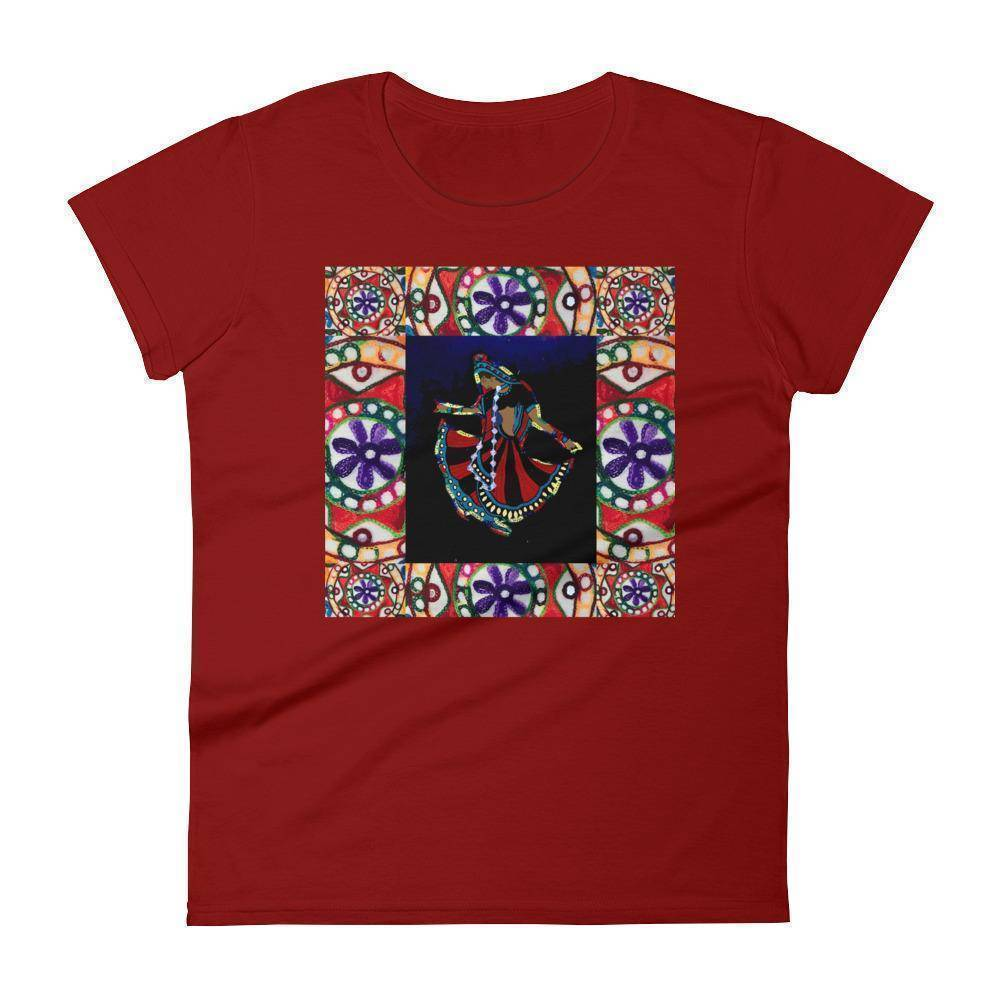 Rajasthani Dancer Women's short sleeve t-shirt