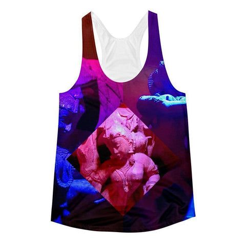 Red Apsara Women's Racerback Tank