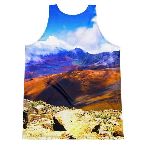 Maui Mountain Unisex Tank Top