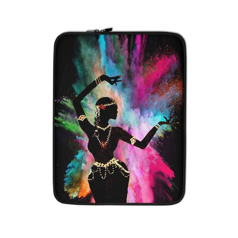 Holi Hai Dancer Laptop Sleeve