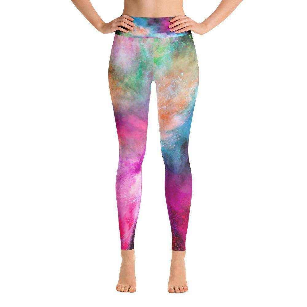 Holi Hai Yoga Leggings