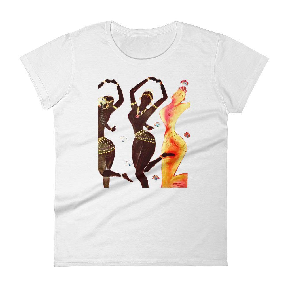 Temple Dancer Women's short sleeve t-shirt