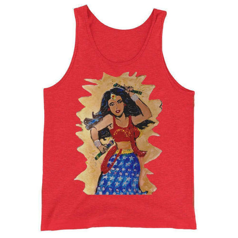 Desi Wonder Woman Unisex  Tank Top
