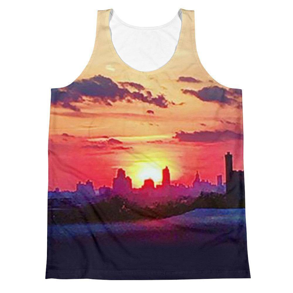 Brooklyn Sunrise Unisex Tank Top