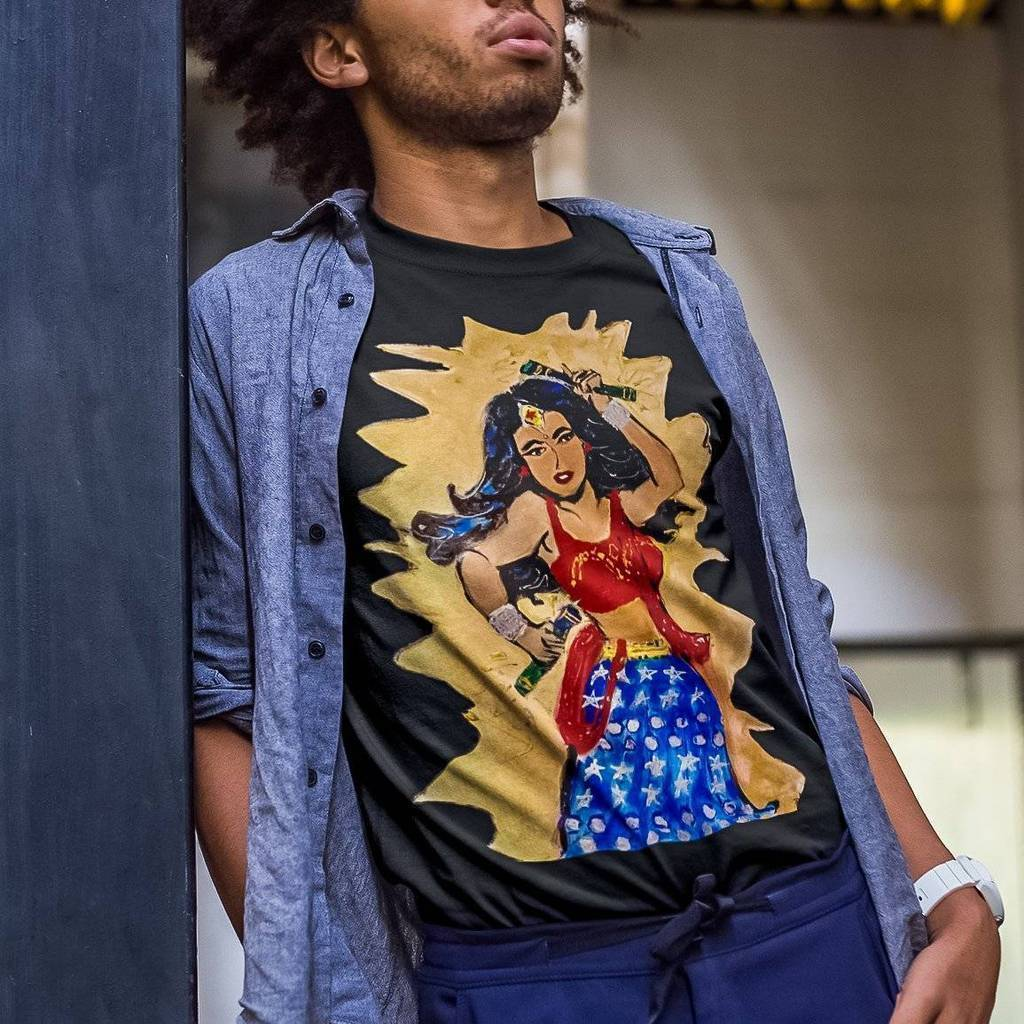 Desi Wonder Woman Unisex Tee