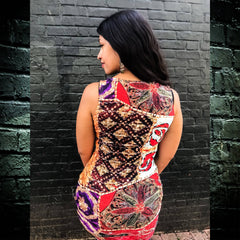 Desi Patchwork Dress