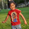 Image of Desi Wonder Woman Kids T-Shirt