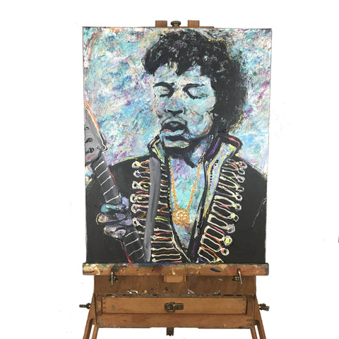 Purple Haze Painting