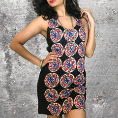 Rajasthani Circle Racerback Dress
