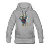 Image of Women's Elephant x Crown Hoodie - heather gray