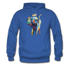 Image of Men's Elephant x Crown Hoodie - royal blue