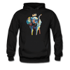 Image of Men's Elephant x Crown Hoodie - black
