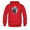 Image of Men's Elephant x Crown Hoodie - red
