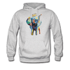 Image of Men's Elephant x Crown Hoodie - ash